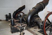 Bagni di Guida (Bivongi); Interno della centrale idroelettrica L'Avvenire