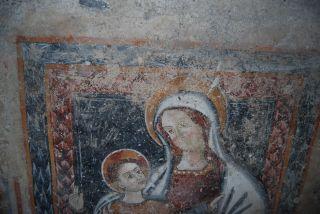 Stilo; Affreschi rinvenuti nel Duomo di Stilo durante i lavori di restauro