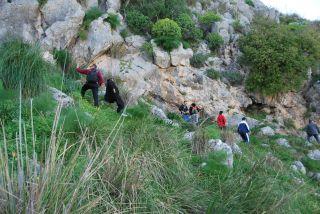 Monte Consolino (Stilo); Laura dei Beati Ambrogio e Nicola (foto Ivan Leotta)