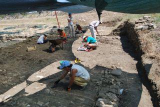 Monasterace; Parco Archeologico di Kaulon. Scavi archeologici alla Casamatta