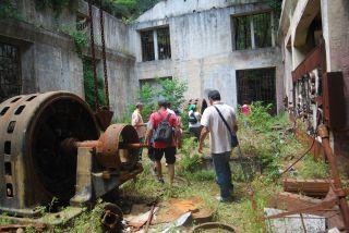 Marmarico (Bivongi); Escursione e visita guidata all'ex centrale del Marmarico