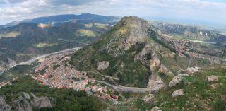 Pazzano; Panorama da Monte Stella