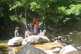 Trekking da Ferdinandea alla cascata del Marmarico. Cascata del Marmarico