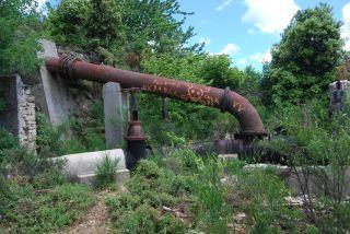 Vertice 11 (Bivongi); Collettore delle condotte dell'ex impianto idroelettrico del Marmarico