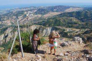 Monte Stella (Pazzano); Punto panoramico