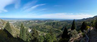 Monte Stella (Pazzano); Panorama sulla vallata dello Stilaro