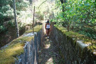 Bagni di Guida (Bivongi); Ponte-canale dell'ex impianto idroelettrico l'Avvenire