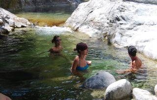 Bagni di Guida (Bivongi); Bagno nelle gurne