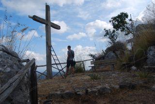 Monte Consolino (Stilo); Punto panoramico al termine del sentiero della via Crucis