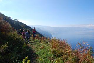 Escursione sul «Tracciolino» del 15-10-2017