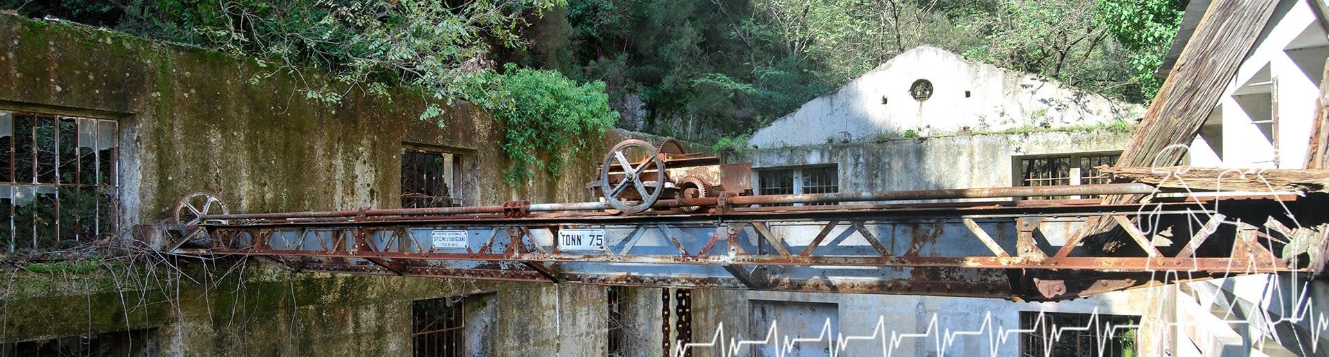 Marmarico (Bivongi); Carro ponte nella centrale del Marmarico