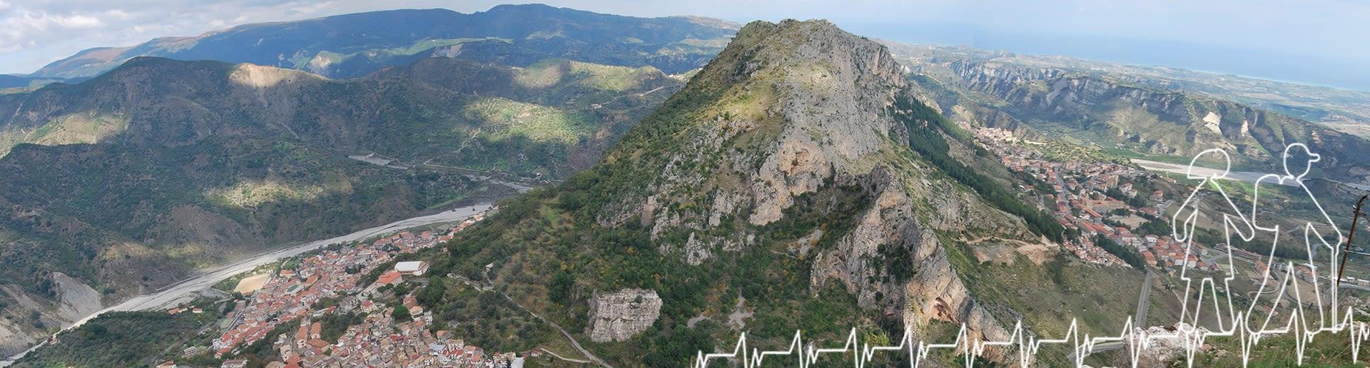 Monte Stella (Pazzano); Panorama su monte Consolino