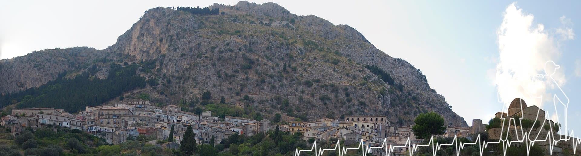 Stilo; Panorama su monte Consolino