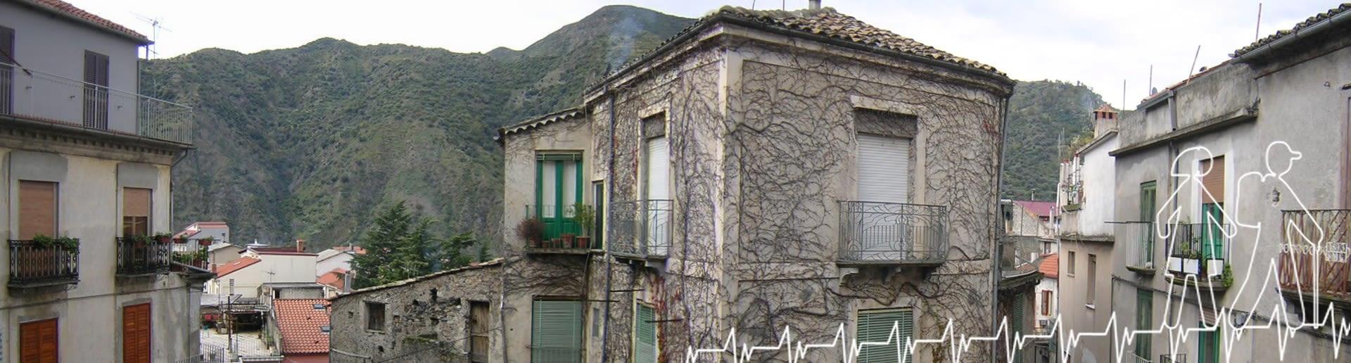 Bivongi; Scorcio del centro storico