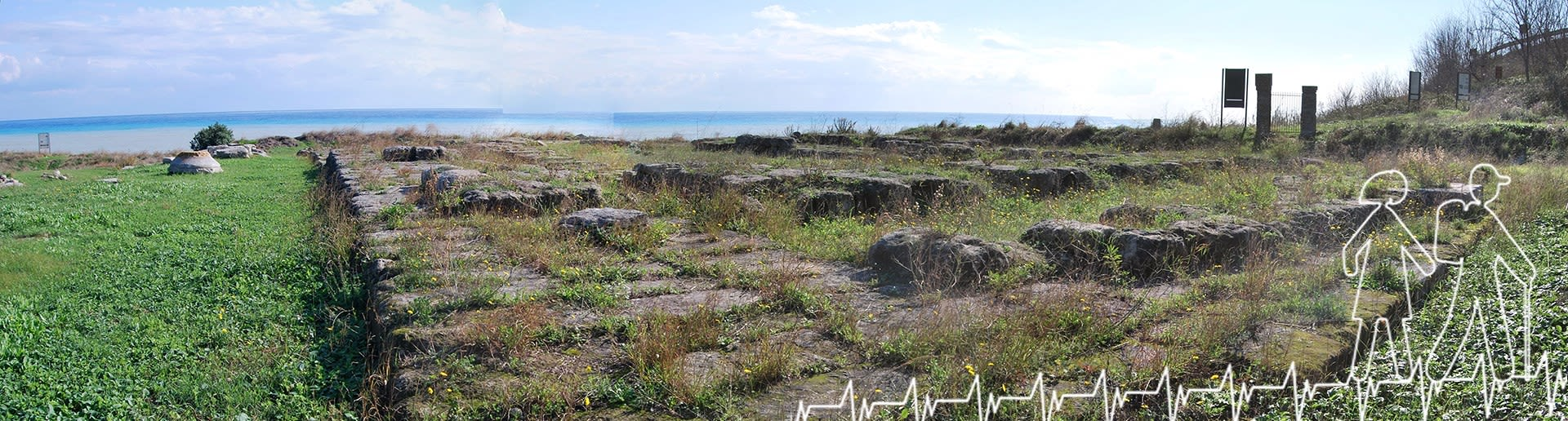 Monasterace; Tempio Dorico nel parco archeologico di Kaulon