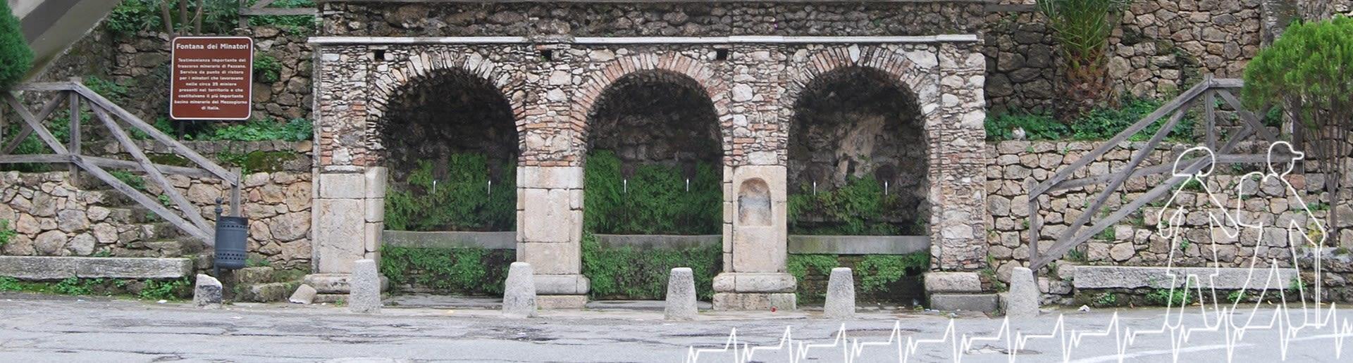 Pazzano; Fontana dei Minatori (Fontana Vecchia)