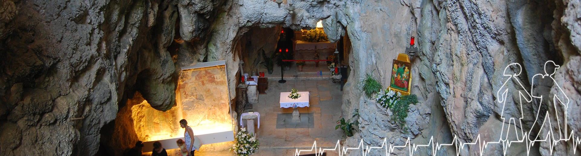 Monte Stella (Pazzano); Grotta Santuario