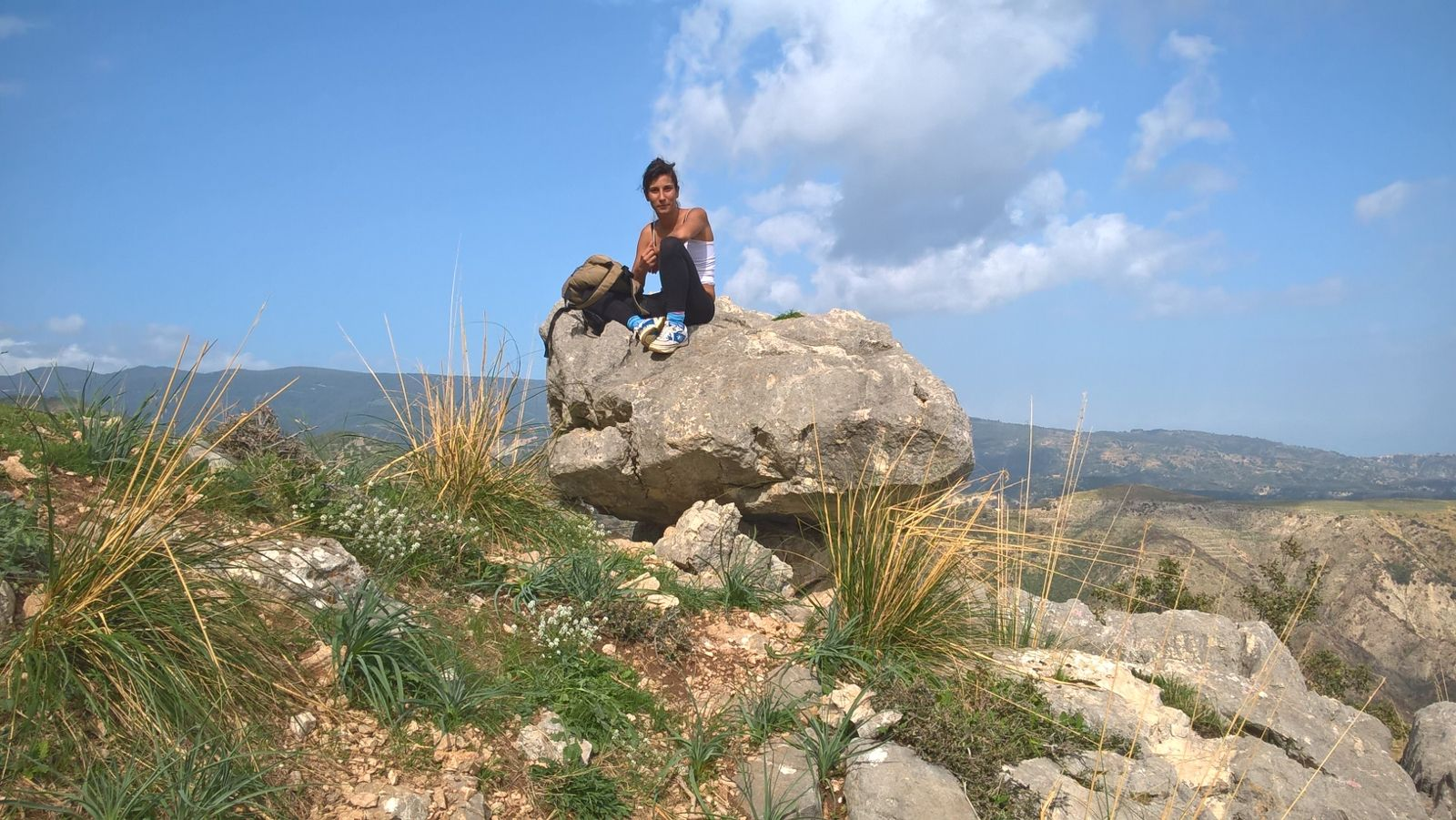 Monte Consolino (Stilo); Panoramica