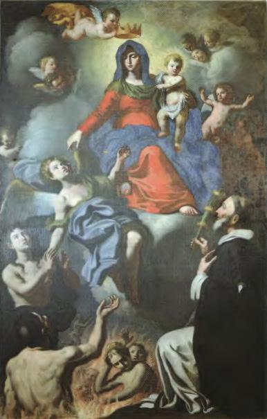 Petrizzi; Tommaso Martini, Madonna del Carmine (1722), Chiesa della SS. Trinità