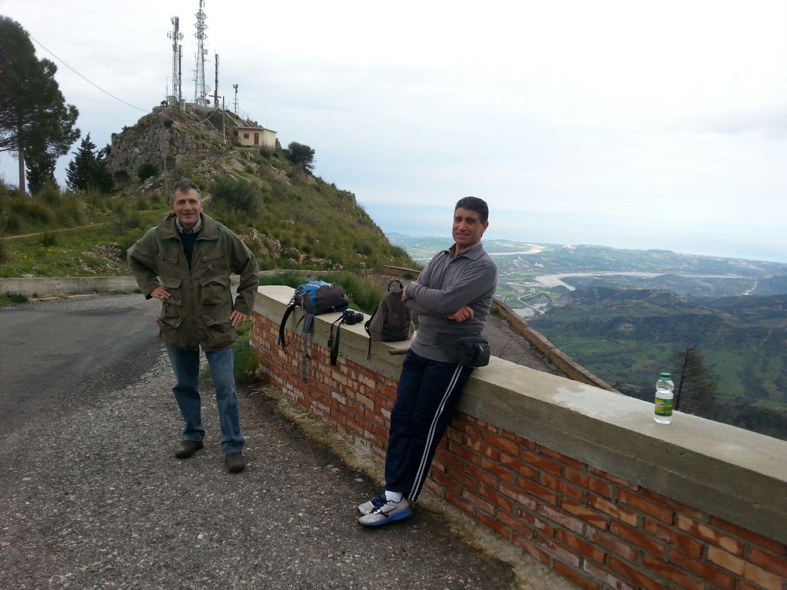 Monte Stella (Pazzano); percorso verso Timpa Perciata
