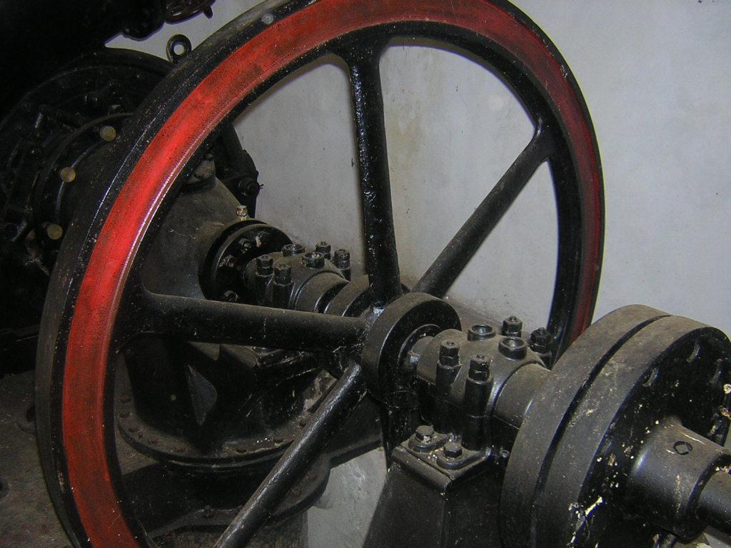 Bagni di Guida (Bivongi); Ex impianto idroelettrico l'Avvenire