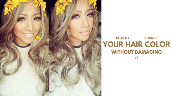 How to change your hair color without the damage