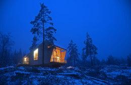 Nøkkelferdig fritidsbolig (prosjektert) – arkitekttegnet og spennende! Inkludert selveiertomt fra 2.850.000,-