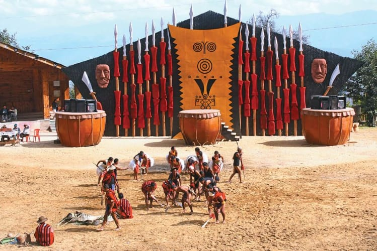The Hornbill Festival And The Dzukou Valley Trail