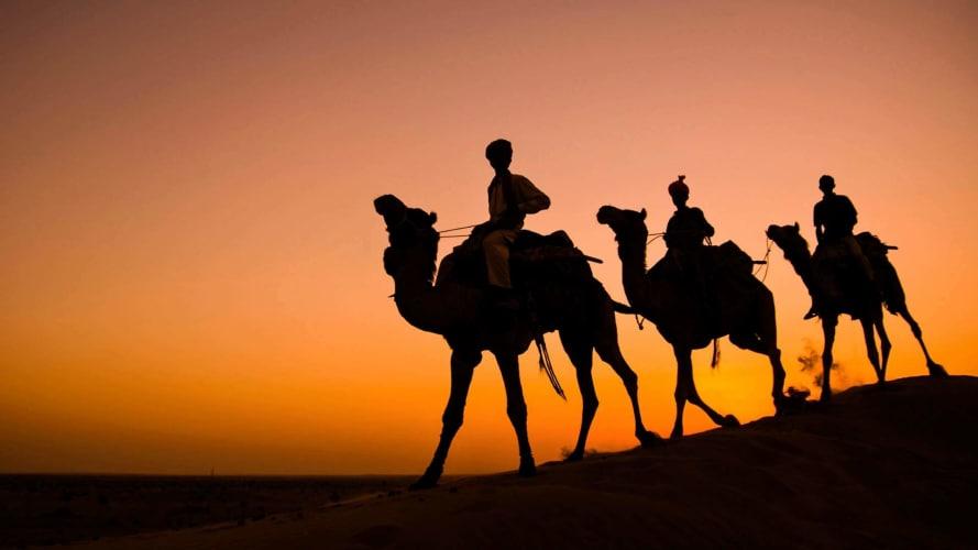 Jaisalmer: Dune Bashing, Haunted Village Walks and Camping