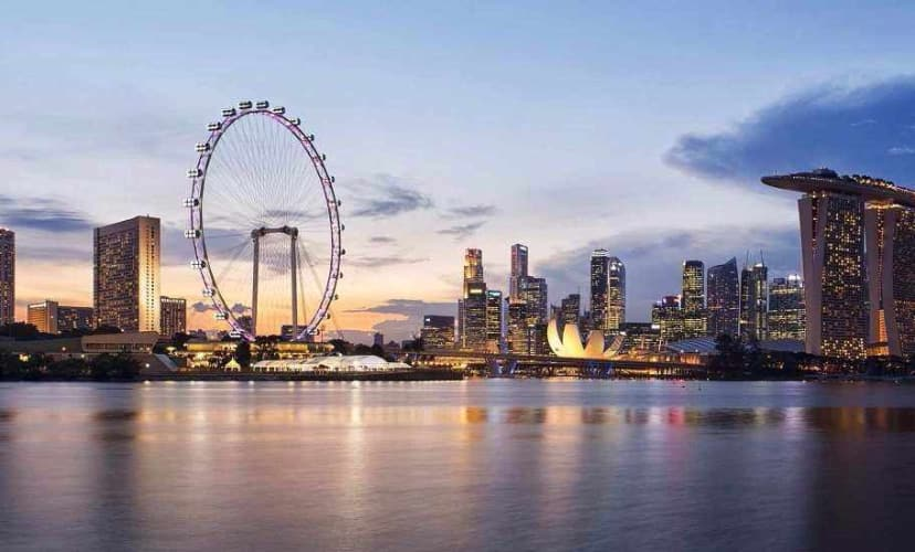 Singapore Holiday with Cruise Stay;  Flight Inclusive
