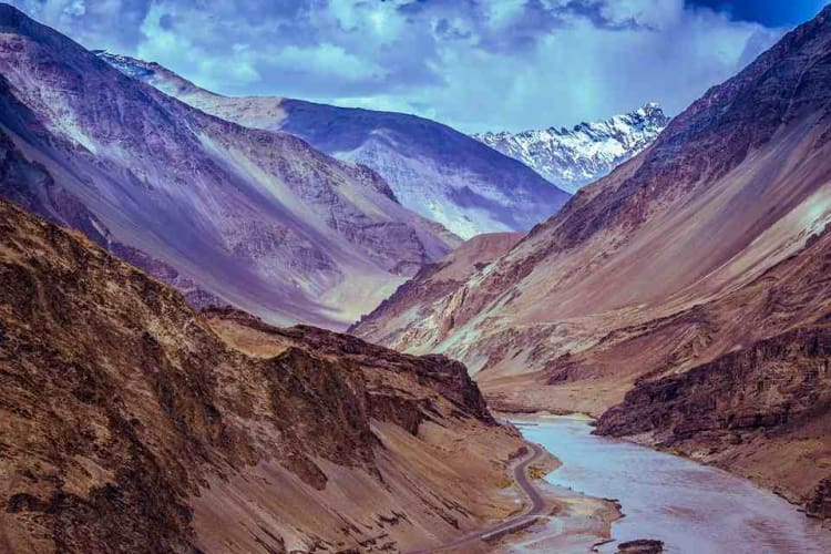 Gateway to Adventure - Ladakh ; flight from Delhi