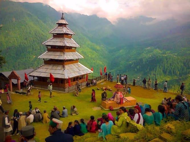 Holiday in Himachal; Volvo Ex Delhi