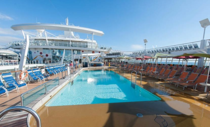 Allure of the Seas; Cruising through Eastern Carribbean