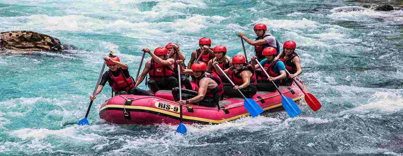 Rafting Adventure weekend in Rishikesh! : Travel from Delhi