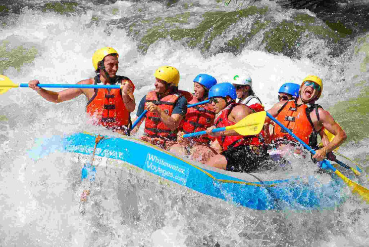 Rafting Adventure weekend in Rishikesh! : Travel from Delhi