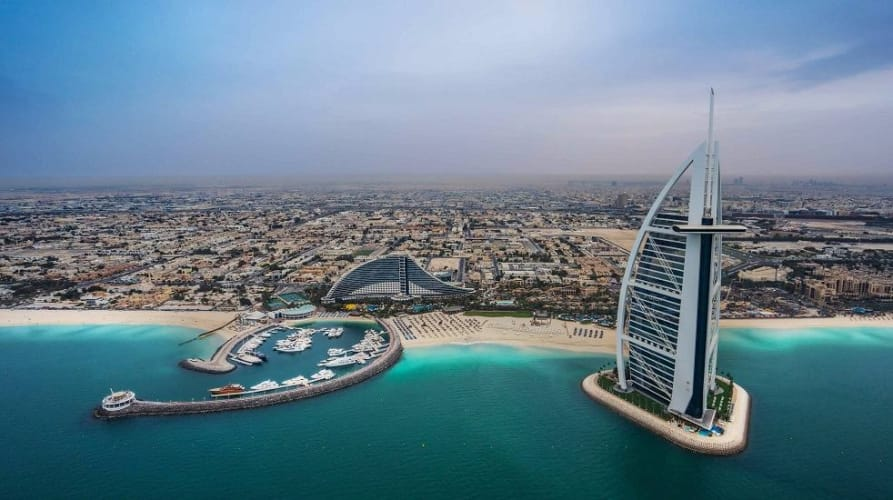 Dubai 6 Days Honeymoon Package
