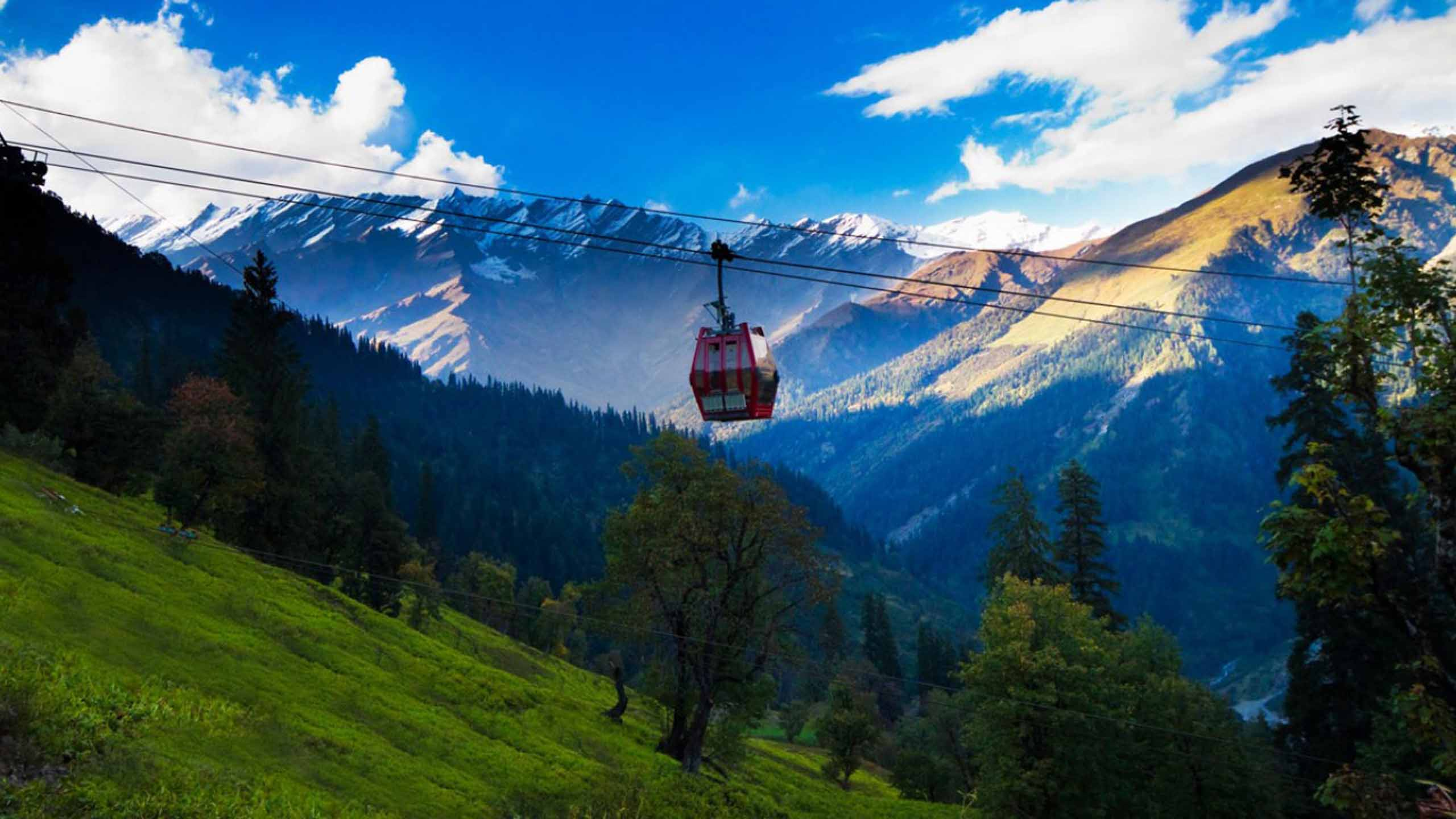 Manali volvo tour package: 03 Hotel nights + 02 Nights overnight journey