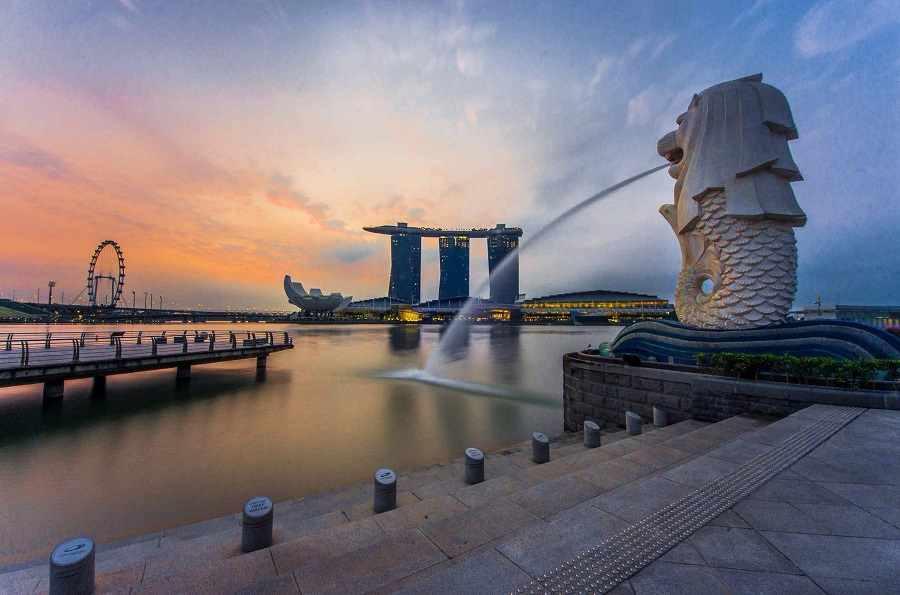 Panaromic Views of Singapore