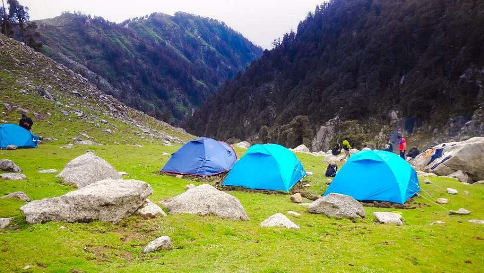McleodGanj - Triund Holi Group Trek; ex-Delhi