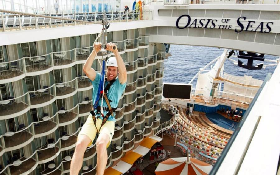 Oasis of the Seas; Orlando and Mexico Cruise