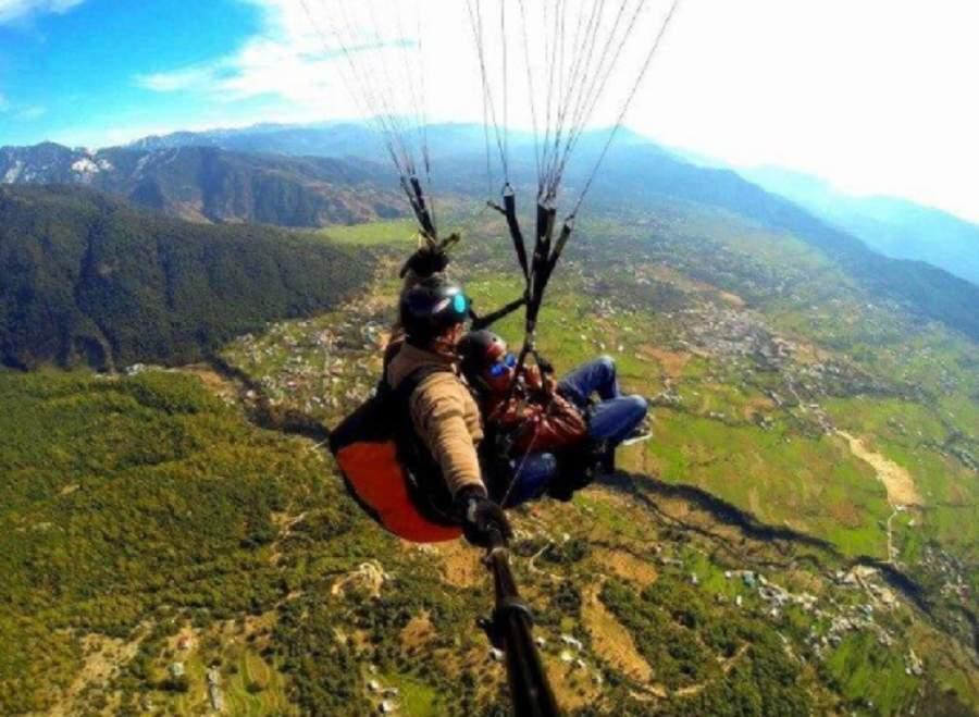 Bir Billing Paragliding - Coach from Delhi
