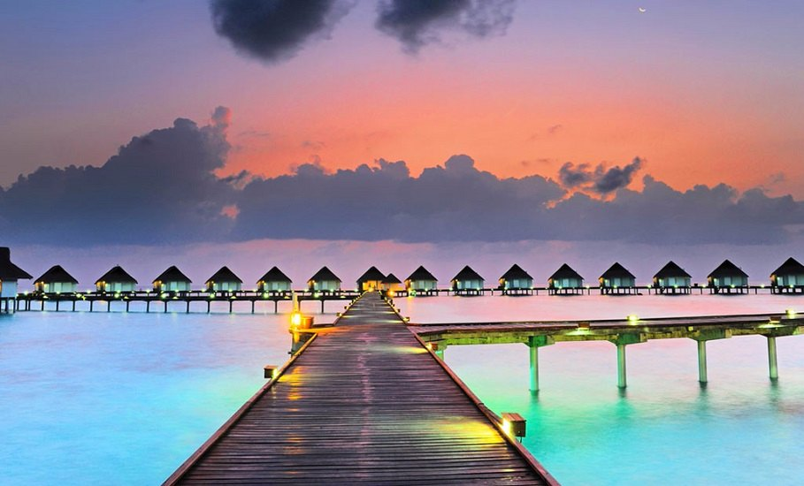 Honeymoon in Maldives 5* Property;4 nights in Paradise Island Resort & Water Villa