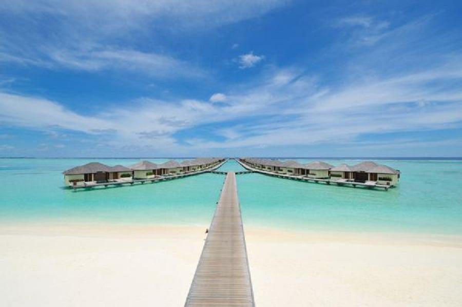 Honeymoon in Beach Front Room Maldives; Fun Island Resort