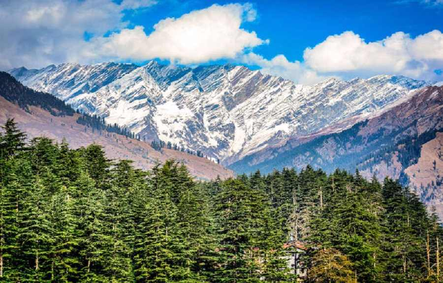 Shimla Manali Himachal Hills with Volvo from Delhi