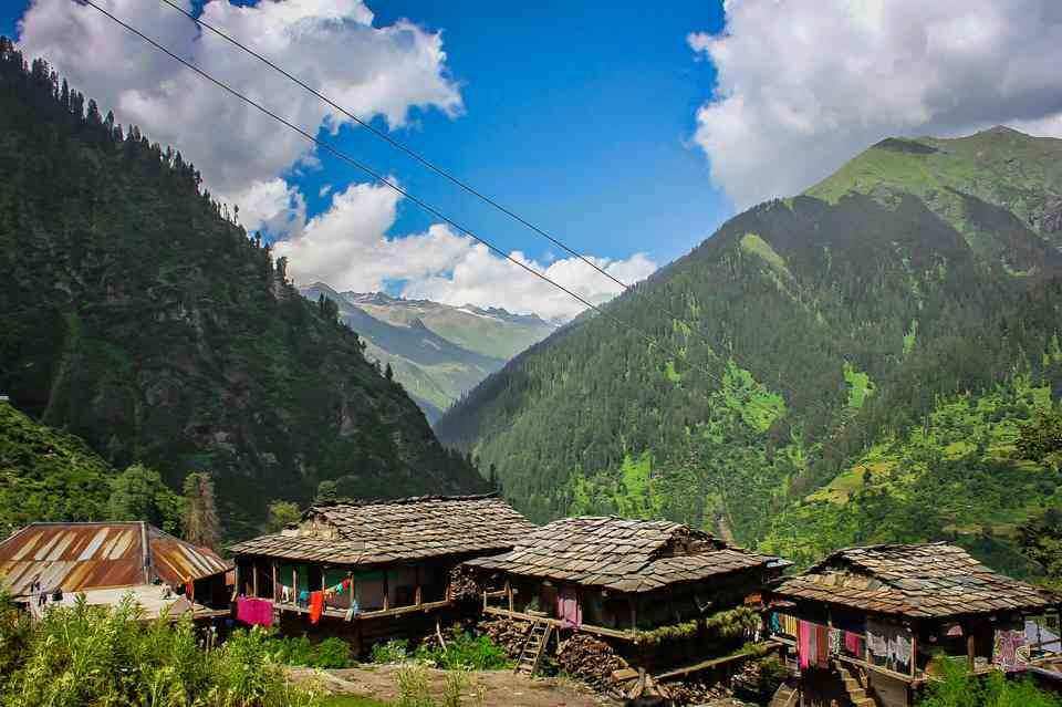 The Kheerganga Trek from Kasol