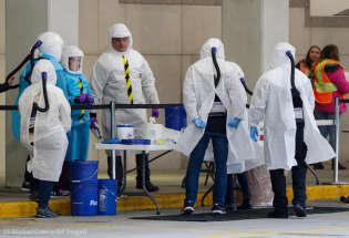 美国私人行业为抗击新冠病毒病出大力