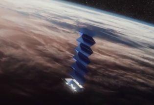 SpaceX成功发射首批60颗星链卫星