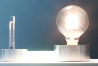 首次利用镅元素点亮灯泡