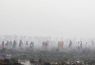 在印度,当空气变成毒药