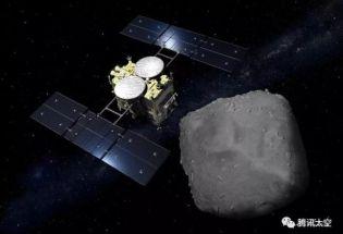 日本探测器携带小行星样本启程返地球!